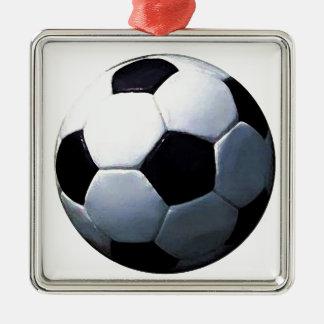 Soccer Ball Christmas Tree Ornaments