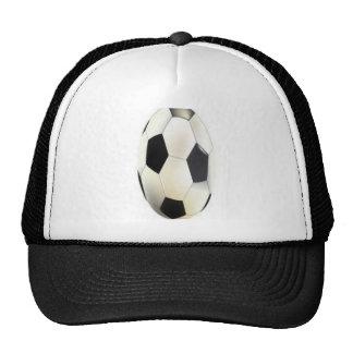 Soccer ball design hat