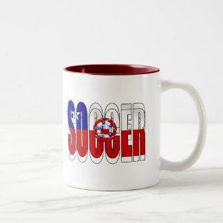 Soccer Ball flag of Chile La Roja gifts Coffee Mug