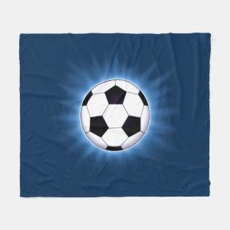 Soccer Ball Fleece Blanket
