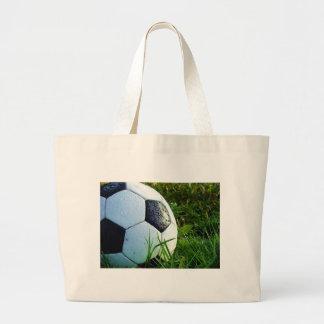 Soccer Ball - Football Ball Jumbo Tote Bag