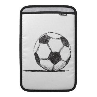 Soccer Ball, Football, Fussball, Team Sport Sleeves For MacBook Air