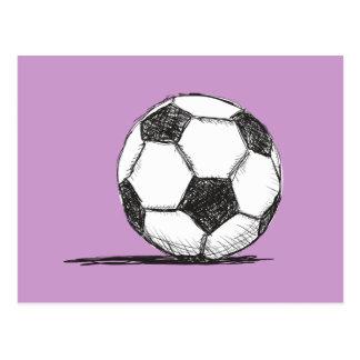 Soccer Ball, Football, Fussball, Team Sport Postcard