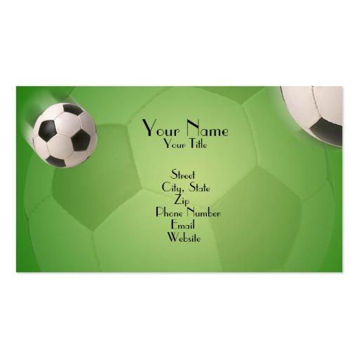 Soccer Ball Football Goal - Business Card