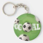 Soccer Ball Football Goal - Keychain