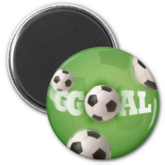 Soccer Ball Football Goal - Magnet