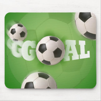 Soccer Ball Football Goal - Mousepad