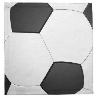 Soccer Ball Football Illustration Napkin
