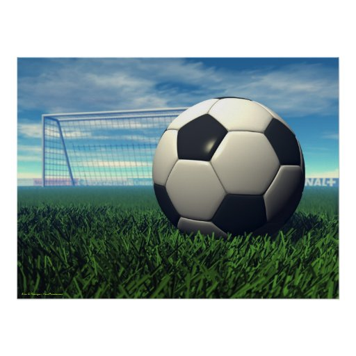 Soccer Ball (football) Poster