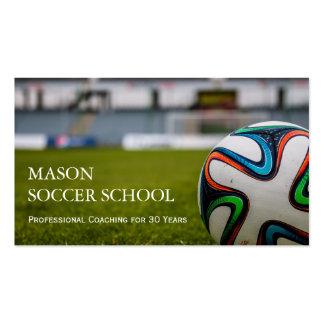 Soccer Ball - Football School Coach Business Card
