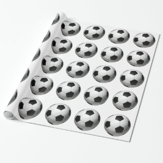 Soccer Ball Football Wrapping Paper
