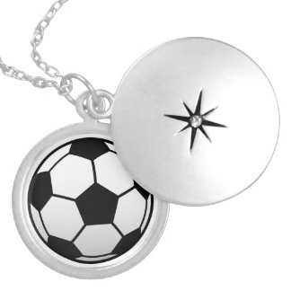 Soccer Ball Futbol products Locket Necklace