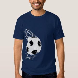 Soccer Ball Goal Mens Tee 4