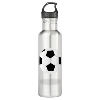Soccer Ball Graphic 710 Ml Water Bottle