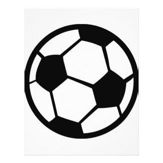 soccer ball icon 21.5 cm x 28 cm flyer