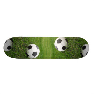 Soccer Ball in Grass Skate Boards