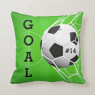 Soccer Ball in Net - GOAL Cushion