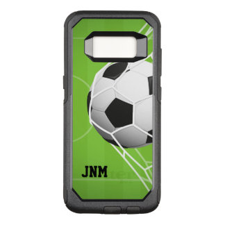 Soccer Ball in Net, GOAL OtterBox Commuter Samsung Galaxy S8 Case