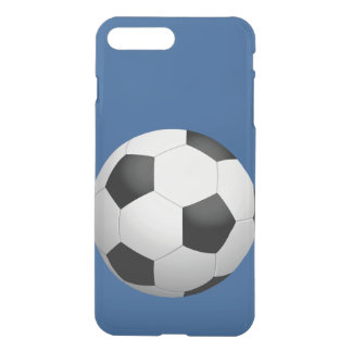 Soccer Ball iPhone7 Plus Clear Case