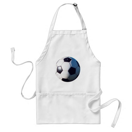 Soccer Ball jGibney The MUSEUM Zazzle Gifts Apron