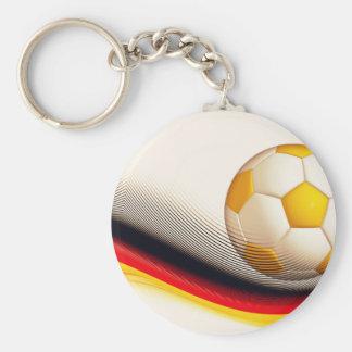 Soccer-ball Keychain