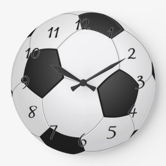 Soccer Ball Large Clock