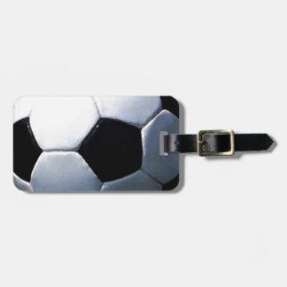 Soccer Ball Travel Bag Tags