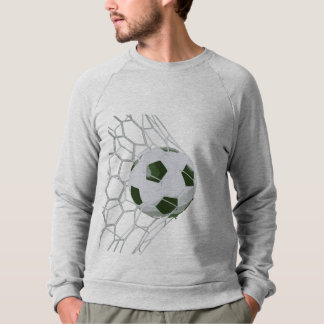 Soccer Ball Mens Graphic Sport Sweater Sweat Shirt