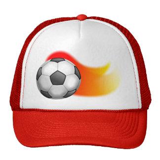 Soccer Ball Mesh Hat