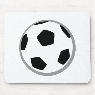 Soccer ball mousepads