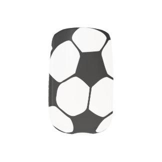 Soccer ball nails fingernail transfers