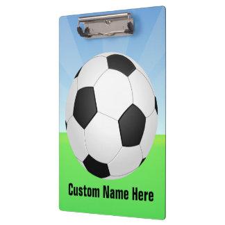 Soccer Ball on a Sunny Day Clipboard