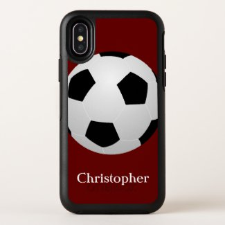 Soccer Ball Otterbox iPhone XS Max Case