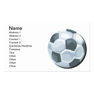 Soccer Ball Pack Of Standard Business Cards