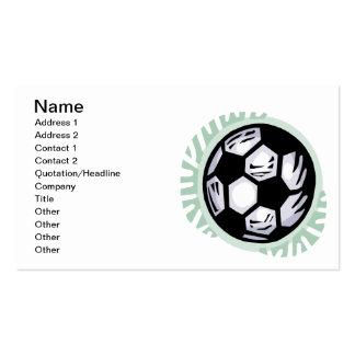 Soccer Ball Pack Of Standard Business Cards