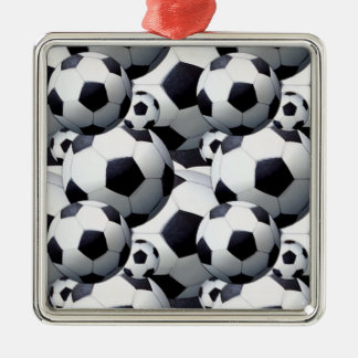 Soccer Ball Pattern Christmas Ornament