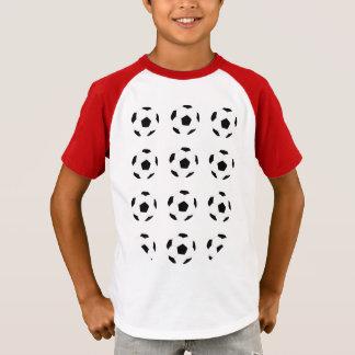 Soccer Ball Pattern T-Shirt