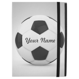"""Soccer Ball Personalized Name iPad Pro 12.9"""" Case"""