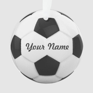 Soccer Ball Personalized Name Ornament