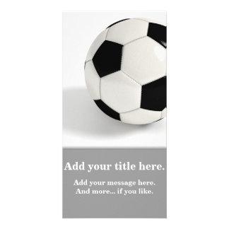 Soccer ball. photo cards