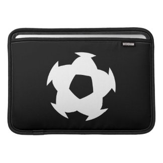 Soccer Ball Pictogram MacBook Air Sleeve
