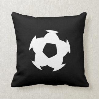 Soccer Ball Pictogram Throw Pillow Throw Cushion