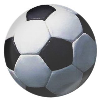 Soccer Ball Party Plates