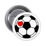 Soccer Ball (Red Heart)
