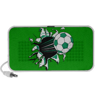 soccer ball ripping through power shot notebook speakers