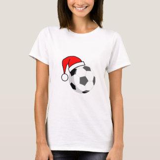 Soccer Ball (Santa Hat) T-Shirt