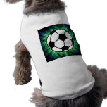 Soccer Ball Sleeveless Dog Shirt