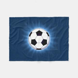 Soccer Ball Small Fleece Blanket