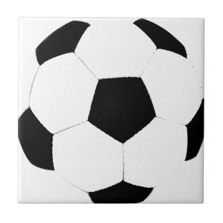 Soccer Ball Small Square Tile