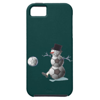 Soccer Ball Snowman iPhone 5/5S Cover